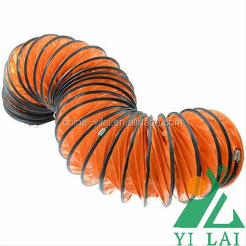 12 Flexible Duct Hose 12 Inch Pvc Ducting Air Hose 35ft Exhaust Air Vent Pipe View Air Vent Pipe Yilai Yilai Product Details From Foshan City Yilai New Material Co Ltd On