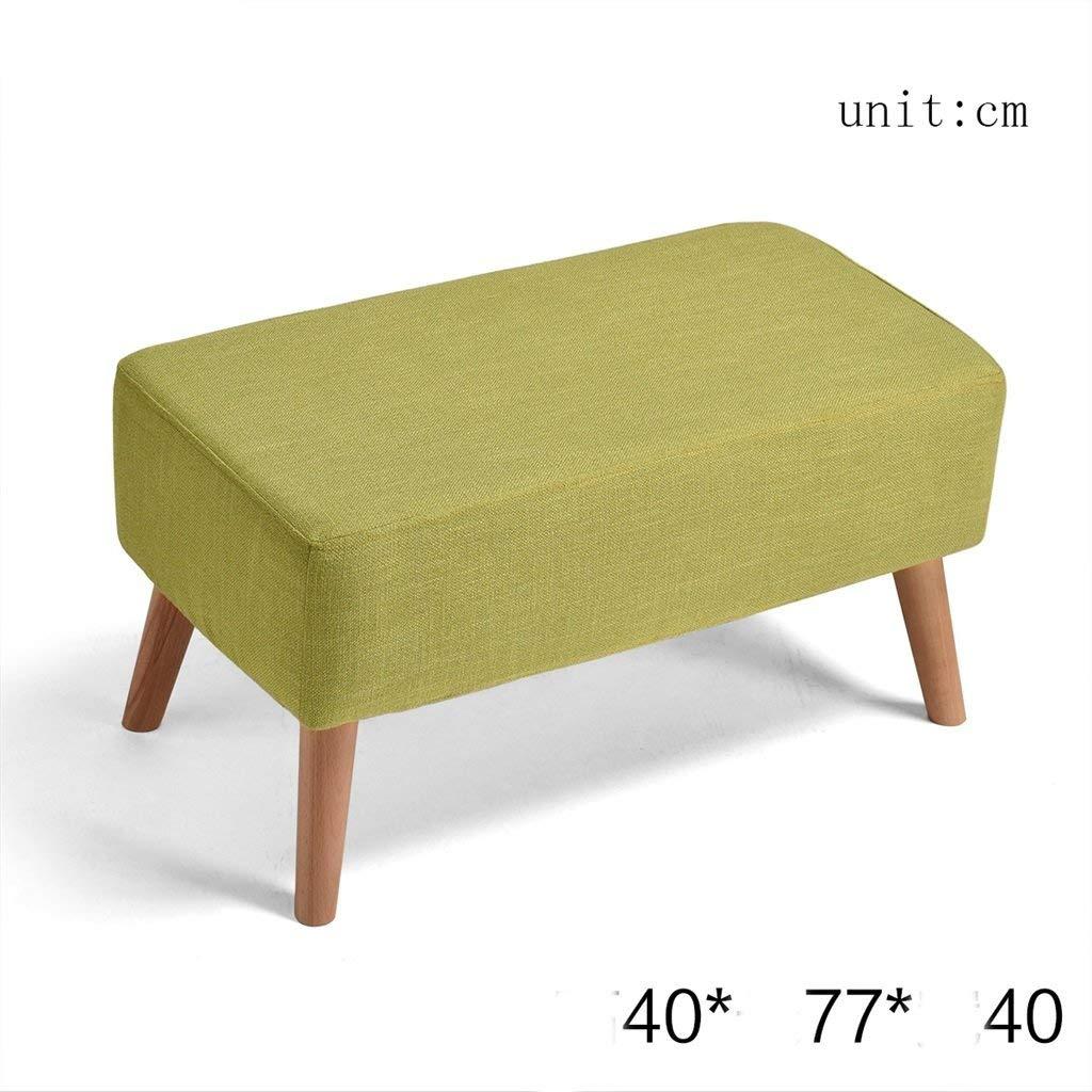 LQQGXL European chair Shoes stool storage stool sofa stool coffee table stool cloth stool stool storage stool (Color : A)