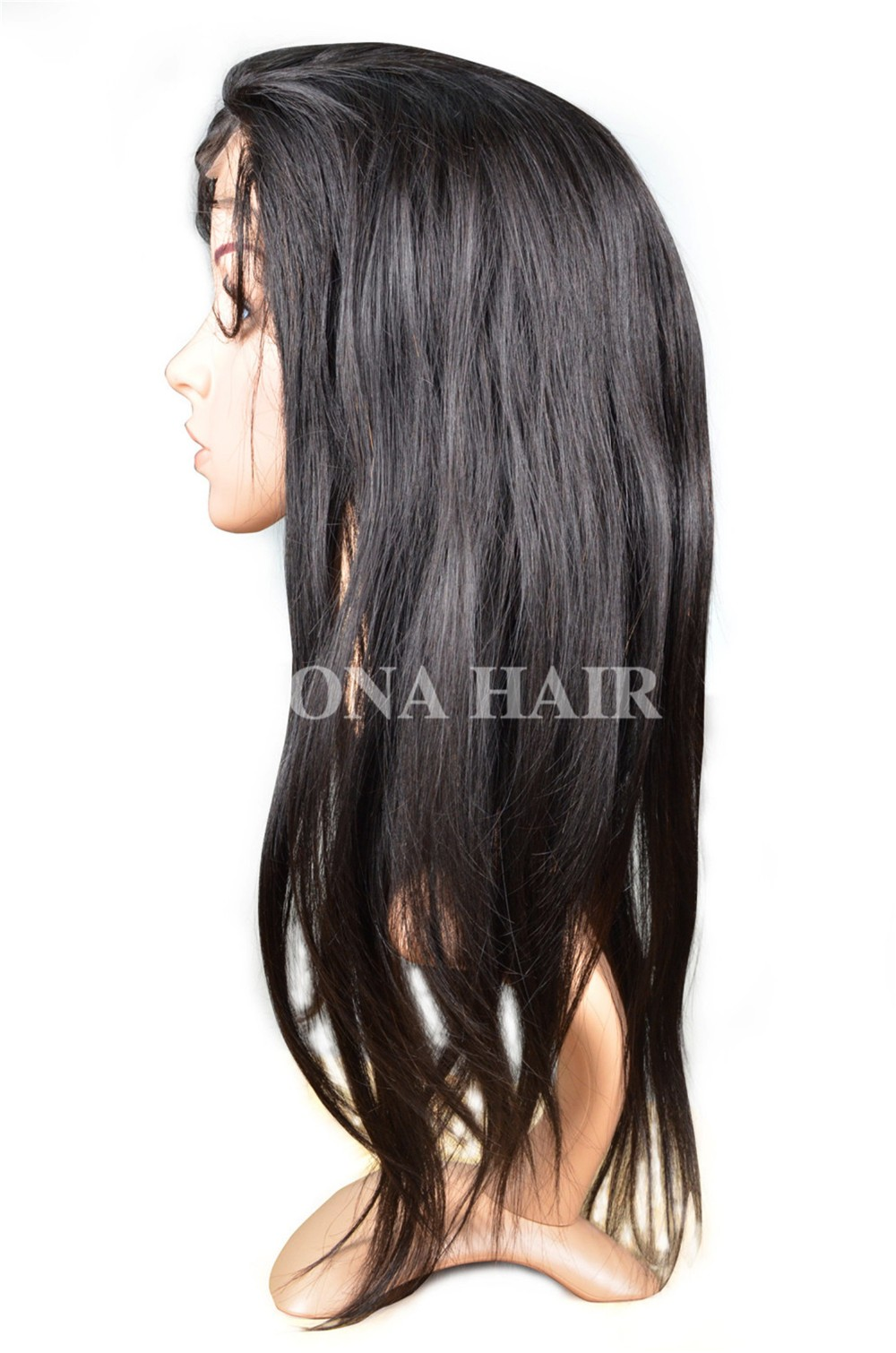 Good Quality Human Hair Full Lace Wig 51