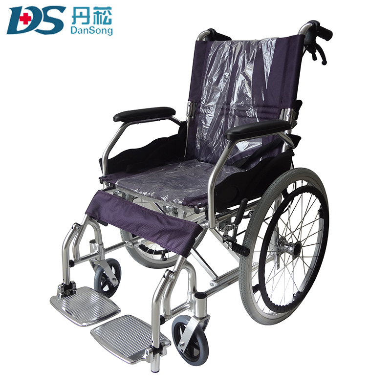 China manufacturer folding small wheel wheelchair for disabled