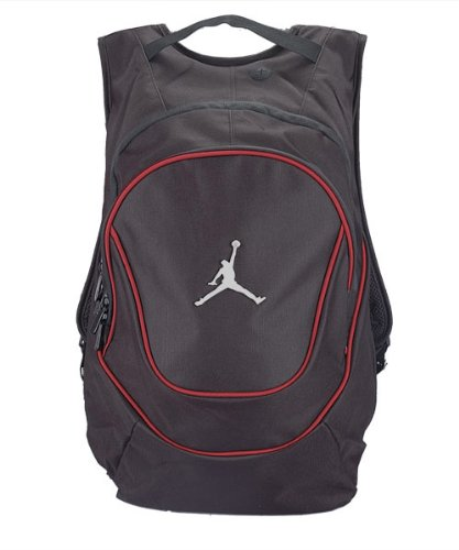 0aeddff229d9aa Buy Nike Air Jordan Jumpman 23 Red Ring Backpack   Black Air Lunch ...