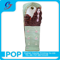 manufacturers quality products cosmetic hook display for hair