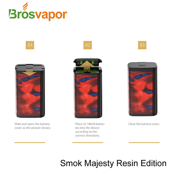 100% Genuine Standard Edition Smoktech Majesty Kit, 2ml/ 4ml SMOK Majesty 225 Mod and Tank in stock