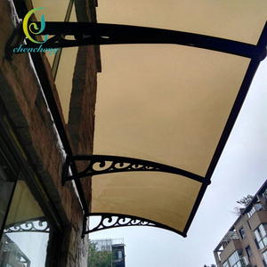 CC Outdoor Customizable Plastic Window Shade Awning