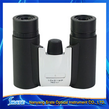 Mini good quality with optical lens good field of yards Folding compact telescope portable 10x Binoculars for travelling