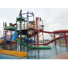 Amus park water playground pool slide price for sale