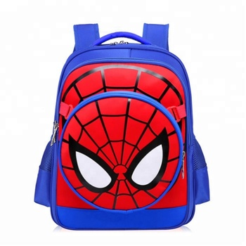 New season school hot sale shoulder student backpack bag mixed color mixed  item 3D cartoon kids 84f5926a744b6