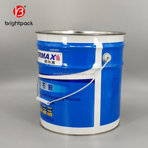 China wholesalers, 18L metal empty pail, round paint bucket,any size barrel used packing engine oil