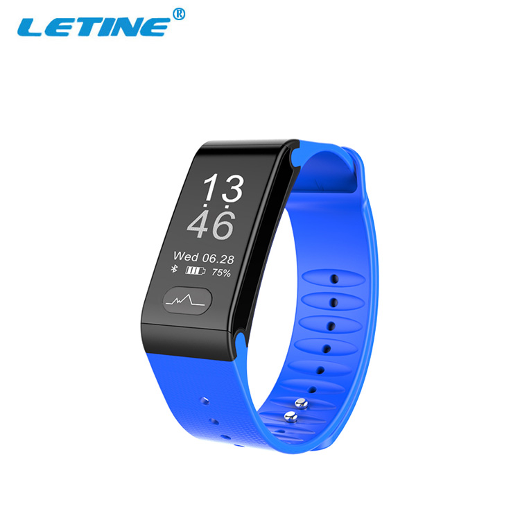 New IP66 Heart Rate Smart Bracelet Band T6 Blood Pressure Monitor ECG Collection Smart band фото