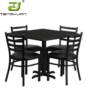 Full Set Modern Cheap Wholesale Used Restaurant Table Chairs