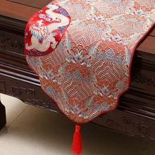 Гордая Роза китайский атласный стол Runner Tafelloper скатерть настольный флаг с кистями домашний декор скатерть на заказ(Китай)
