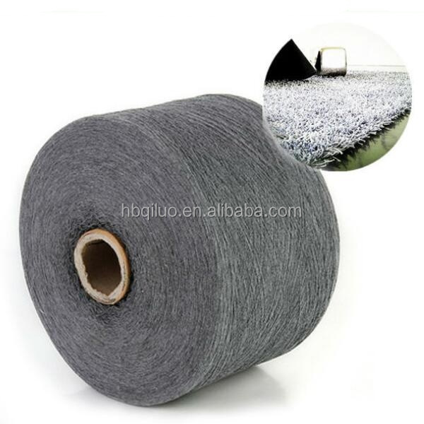 China Supply Competitive Price High Quality Recycled High Quality Mixed Cotton Polyester Zero Twist Ribbon Yarn Carpet for Sale