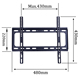 Universal fixed LED TV Wall Mount 55 inch motorizzato tv wall Mount