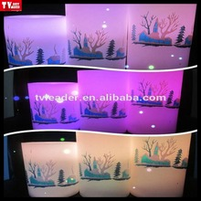 happy birthday decorative electricscented candles flashing different color LED lamp light