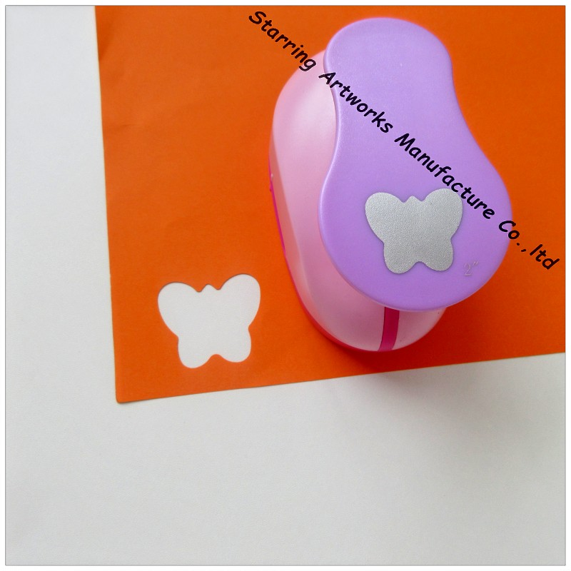 Butterfly Shaped Heavy duty ABS craft paper punch for scrapbook
