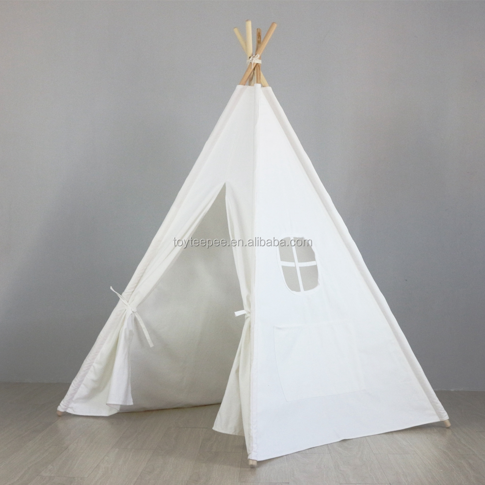 promo code 11de2 9ba9b 6ft White Kids Teepee Tent With Carrying Bag - Buy Kids Teepee Tent,Kids  Teepee Tent With Carrying Bag,6ft White Kids Teepee Tent With Carrying Bag  ...