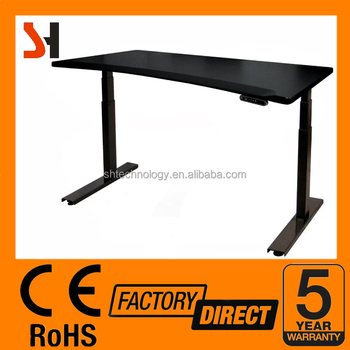 Ergonomic Electric Adjustable Standing Desk, Anti Collision Function