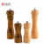 Pepper Mill Manual Oak Wood Salt and Pepper Grinder Shaker Seasoning Bottle Ceramic Adjustable Coarseness Grinder