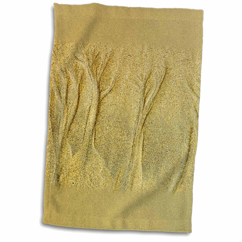 3dRose Danita Delimont - Patterns - Canada, British Columbia, Pacific Rim NP. Sand patterns on beach. - 12x18 Towel (twl_208894_1)