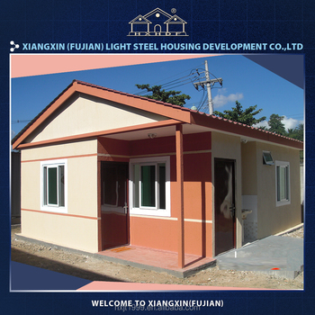 durable easy assemable lucury villa modular homes for sale