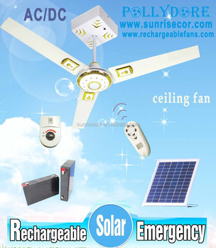 New rechargeable ceiling fan 12v solar ceiling fan with light remote new rechargeable ceiling fan 12v solar ceiling fan with light remote control and ac dc adjustable aloadofball Choice Image