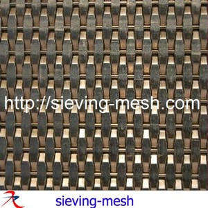 Weave Metal Fabric,Decorative Metal Mesh for Elevator Wall Claddings