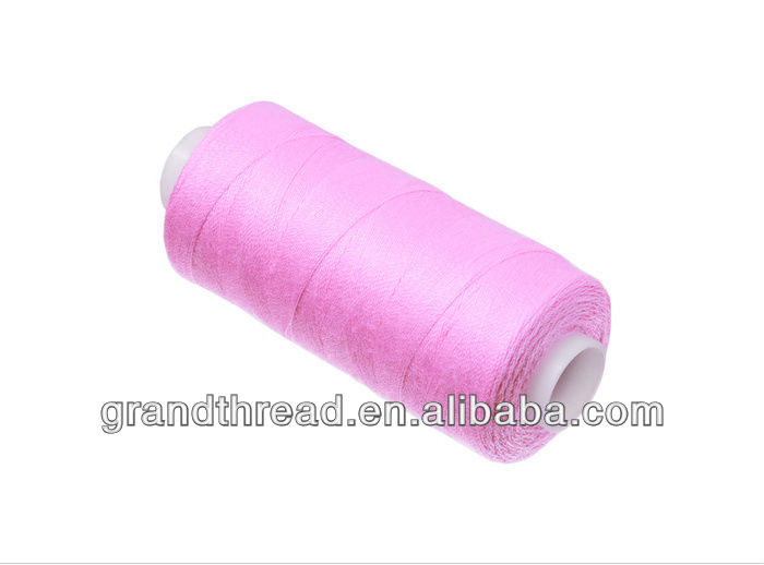 Color 100% Spun Polyester Sewing Thread Cone