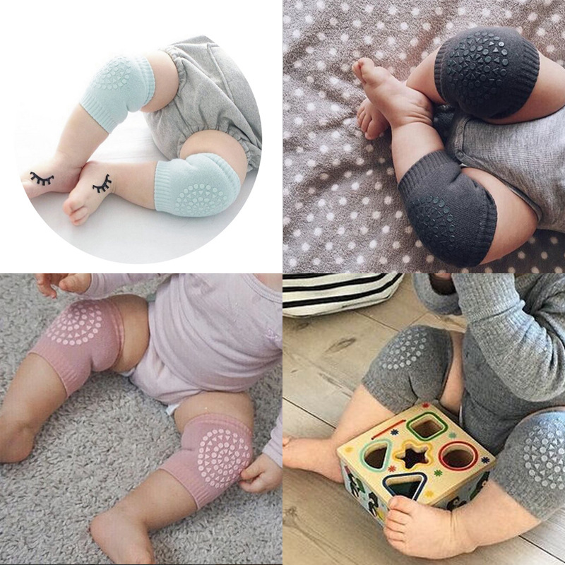 Baby Gyms & Playmats Activity & Gear Trustful Baby Kneepad Protector Pads Soft Toddler Leg Warmers Thicken Non-slip Anti-cold Dispensing Safety Crawling Elbow Well Knee