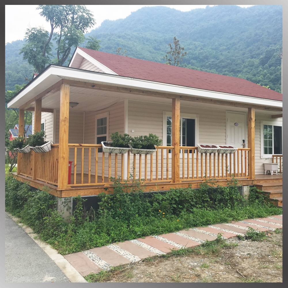 Low cost steel structure prefab houses made in china