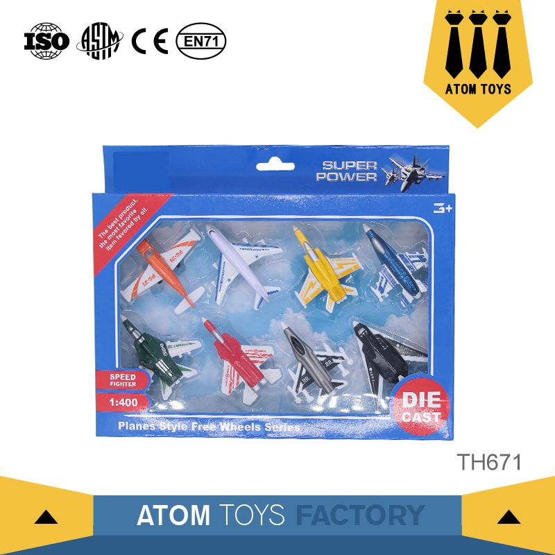 Guangdong toys airline metal scale diecast 1:400 model airplane with cheap price