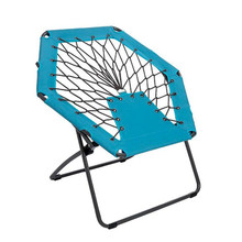 Outdoor <span class=keywords><strong>Camping</strong></span> พับ Bungee Dish เว็บ<span class=keywords><strong>เก้าอี้</strong></span>สำหรับเดินป่าสวน Patio