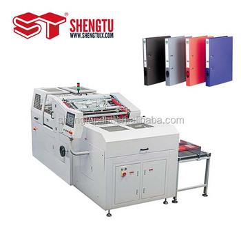 High Precision ST040PP Automatic level Arch File Case lining machine with CE Approved