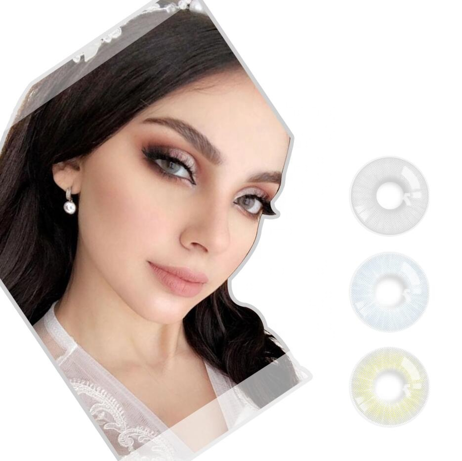 Realcon Wholesale Natural Design FA-71 Beauty Eyes Colored Contact Lens