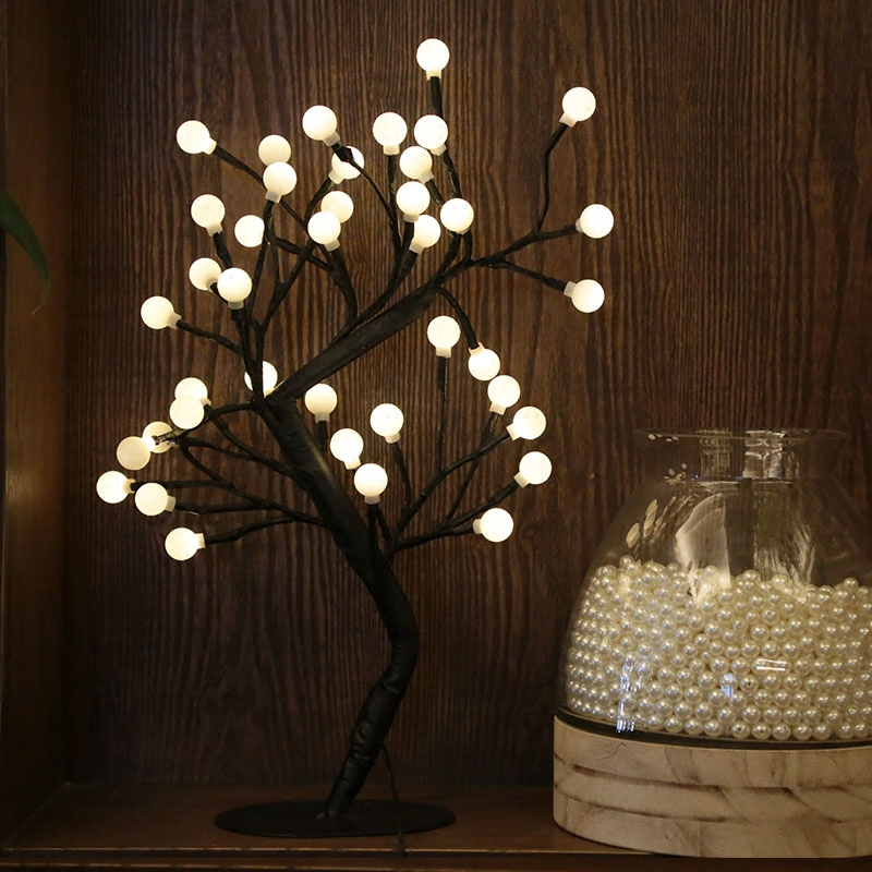Amazing Tree LED Light with Christmas Star Flower or Small pot