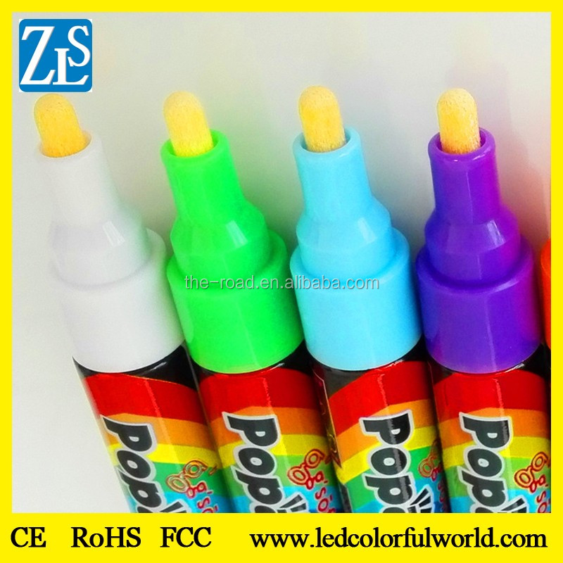 Latest products fluorescent Marker Cloth painting texile pen
