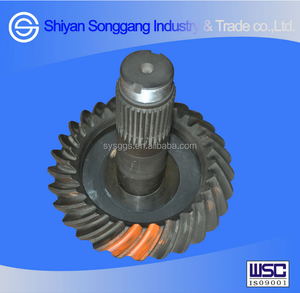 Dongfeng Truck Axle Driving & Driven Bevel Gear /Differential Gear 2502ZH1827-025/026 for Dongfeng Truck DFL4251
