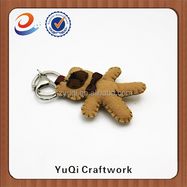 cute fabric doll keychain wholesale