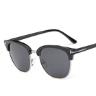 Superhot Classical Club Style Plastic+Metal Frame Polarized Lens Eye Glasses Sun Shades 101013