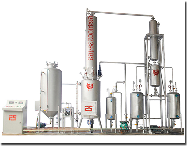 Used Kerosene Oil Vacuum Distillation Refinery Machine