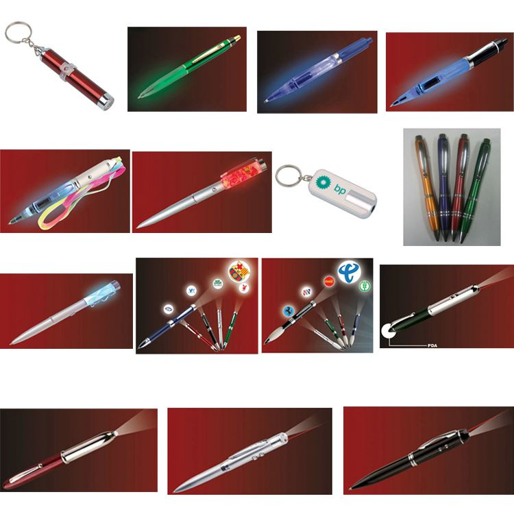 Different Material Torchlight Pen