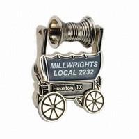 Your Own Design 2D 3D Zinc Alloy Silver Gold Soft Enamel Custom Cloisonne Metal LAPEL PIN Badge