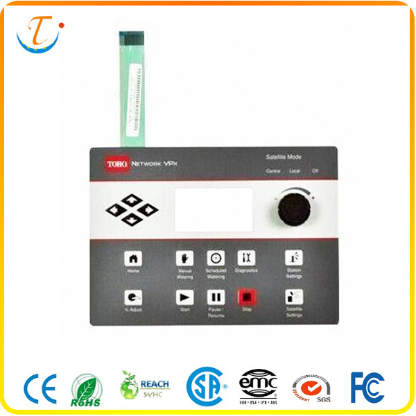 China Suppliers Custom Membrane Switch Faceplate