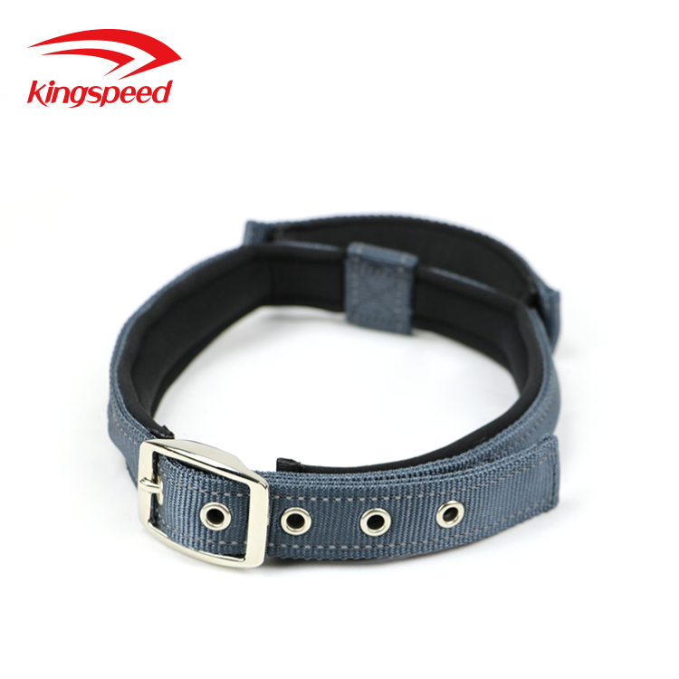 2018 Best Selling Grey Neoprene Padded Pin Buckle Collar with Bungee Handle for Small, Medium, Large <strong>Dog</strong>