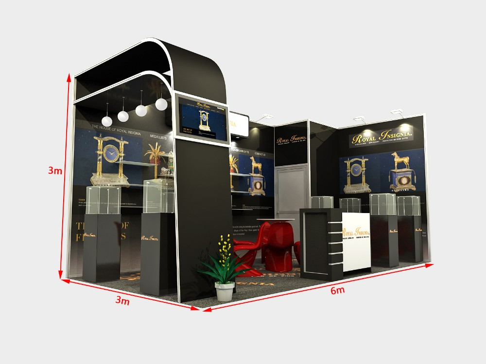 Exhibition Stand Rota : China factory economical recycle used high quality display stand