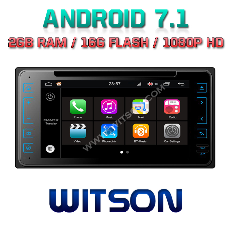 WITSON S190 <strong>ANDROID</strong> 7.1 CAR DVD GPS NAVIGATION FOR <strong>TOYOTA</strong> <strong>UNIVERSAL</strong> 2G DDR3 1080P HD EXTERNAL BLUETOOTH MICROPHONE