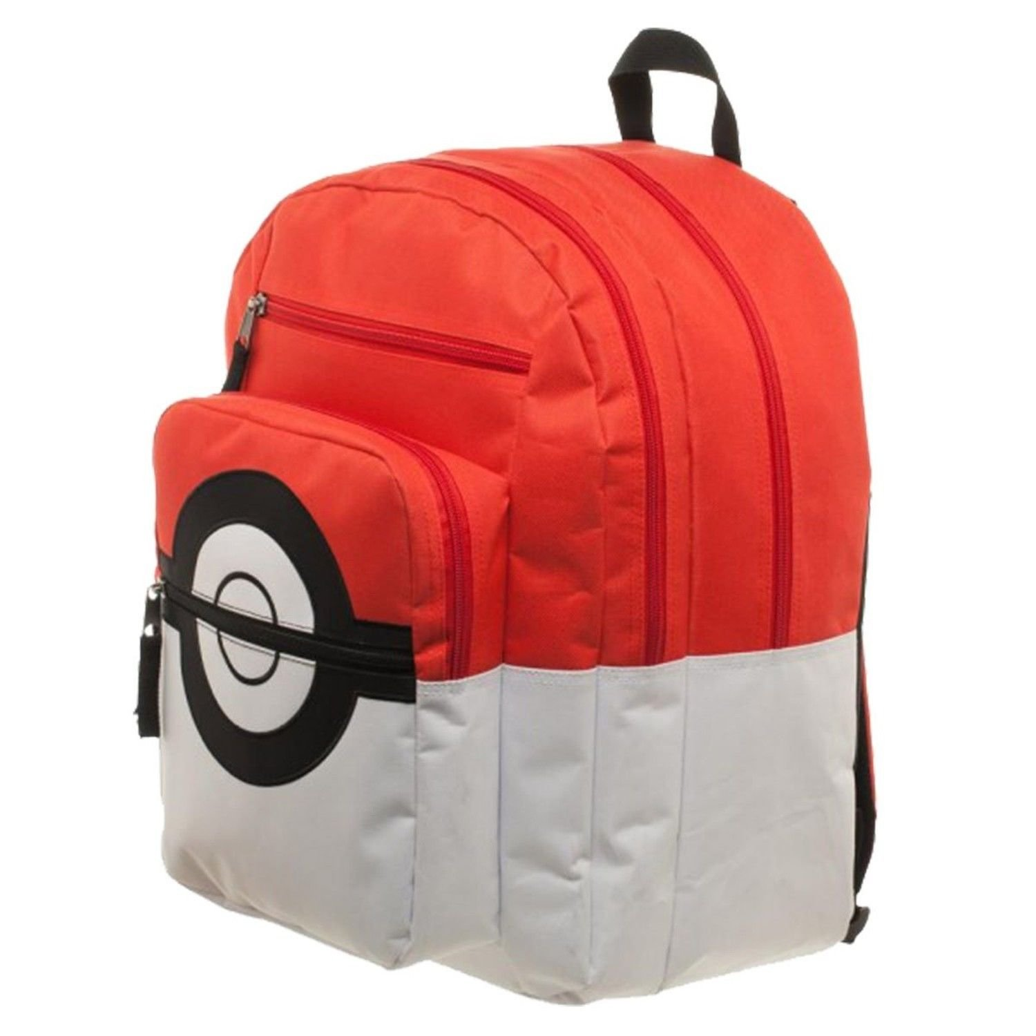Get Quotations · Nintendo Pokemon Go Pokeball Licensed Backpack School Book  Bag Trainer Bag Charm 8dafe1ca2ecea