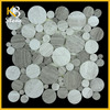 Best selling low price round marble table tops for decoration