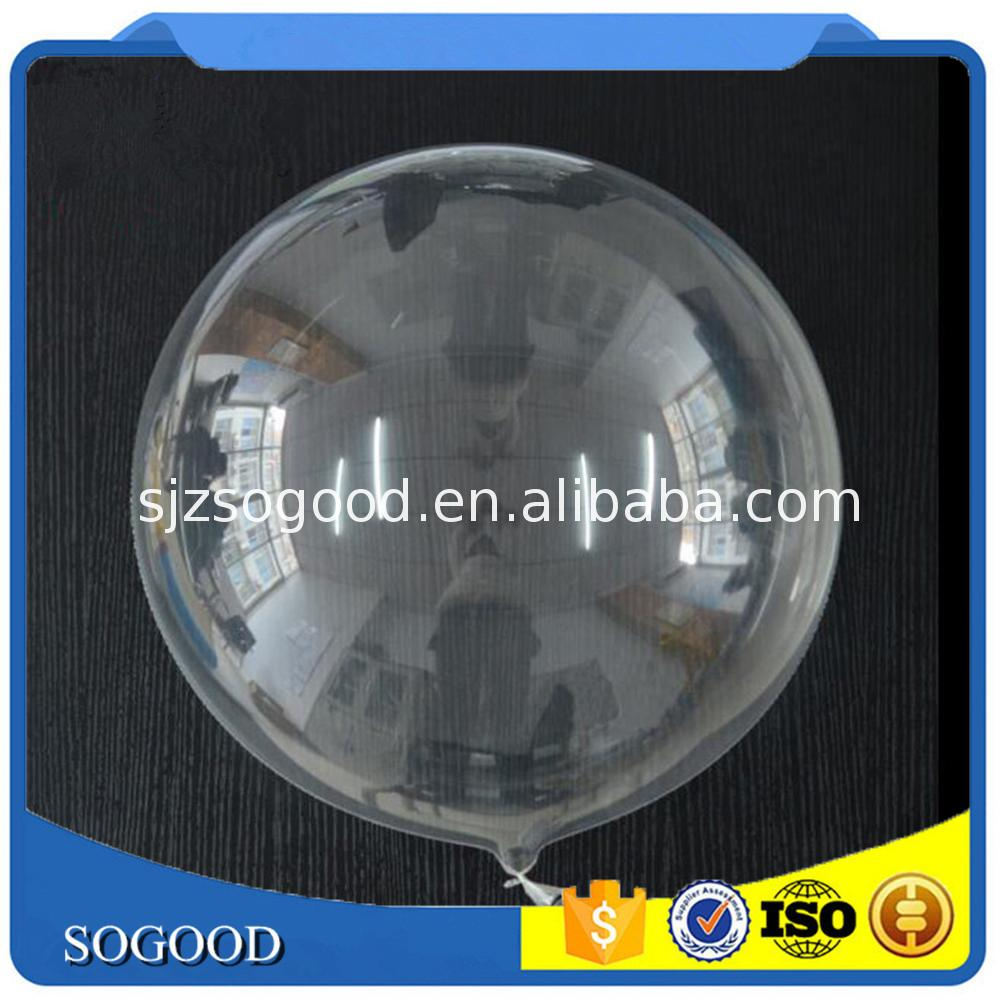 Reliable and Good 36 inch round pvc balloons transparent balloon for wholesales