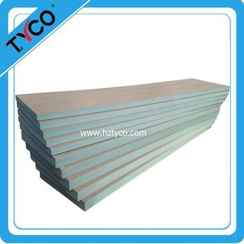 Compressed cement and glass fiber mesh with xps board for for Compressed fiberglass insulation