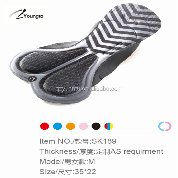 OEM coolmax 3d cycling pad chamois